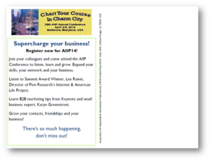 AIIP14 Save Date PostCard-Back