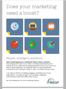 IntelliCraft Marketing Services Flyer-side1