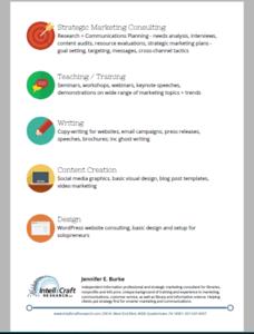 IntelliCraft Marketing Services Flyer-side2