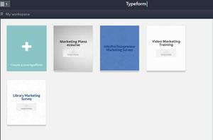 Typeformworkspace