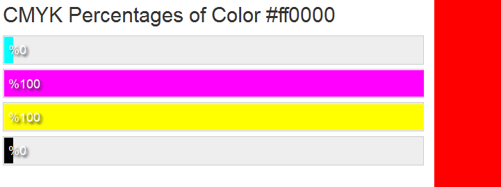 marketing color codes CMYK