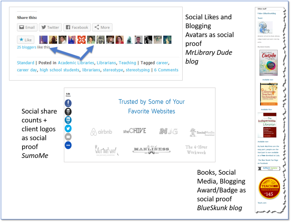 marketing terms social proof examples