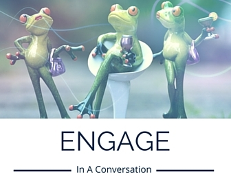 content marketing is engaging in a conversation