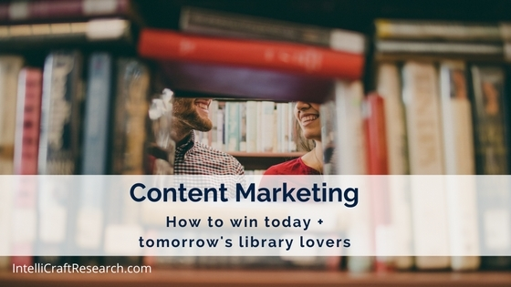 Content Marketing helps win fans of libraries