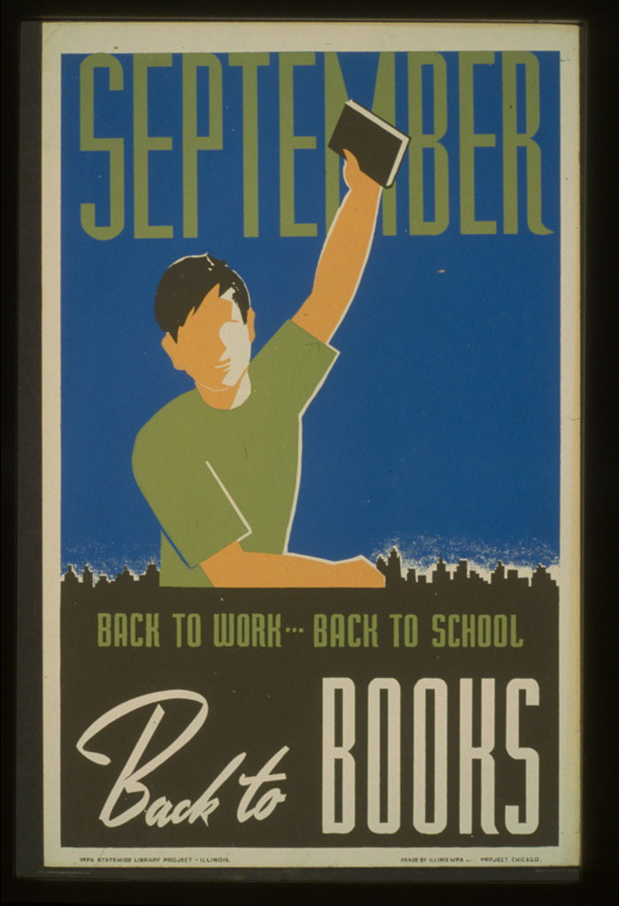 LoC WPA Back to Books back to school poster-3f05199v