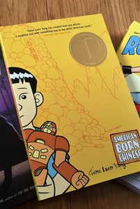young adult graphic novel american born chinese