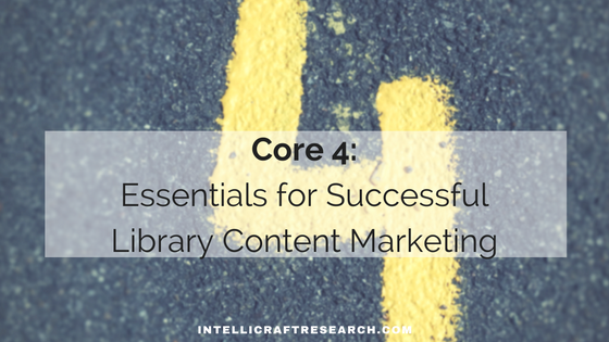 core 4 essentials of content marketing success