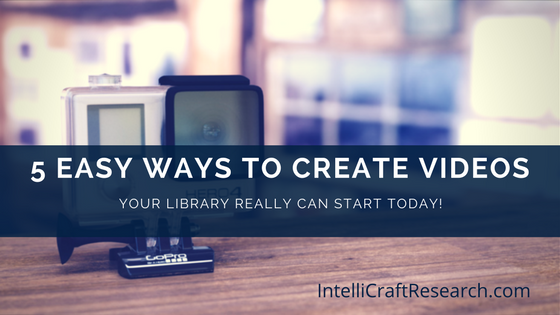 easy ways to create videos gopro on a bookshelf