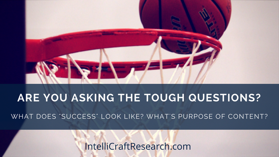 ask tough questions to get to successful goals