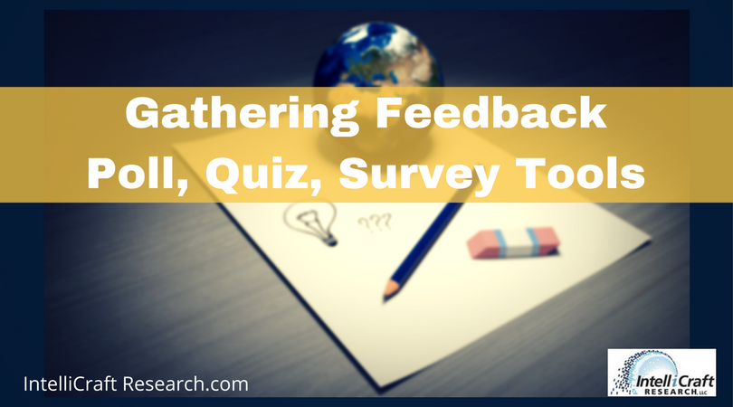 library marketing research tools feedback surveys questions