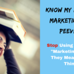 Jennifer's Pet Peeve Marketing and PR Not Mean the Same Thing