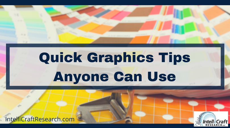 quick graphic visual design tips for any library professional
