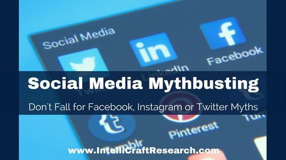 IntelliCraft Social Media Myths Busted Facebook Twitter Instagram