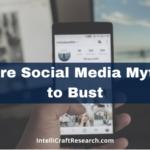 more social media myths smartphone computer screen