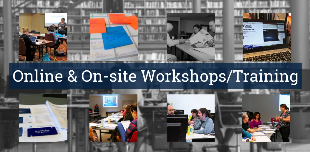 Jennifer Burke IntelliCraft Library Marketing Training Workshops Webinars
